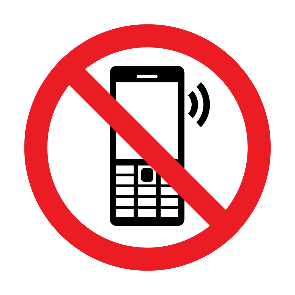 No_Cell_Phone_Vector_Sign